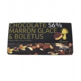 CIOCCOLATO 56% MARRON GLACE' E BOLETUS barretta 100 g | FREELAND - Food