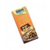 CIOCCO AL LATTE CON NOCCIOLE INTERE | Cioccolato Senza zucchero | GIUSTO