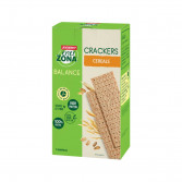 CRACKER INTEGRALI 40-30-30 CEREALI | Cracker gusto Cereali 7 minipack | ENERZONA