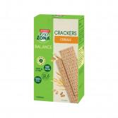 CRACKER INTEGRALI 40-30-30 CEREALI | Cracker gusto Cereali 7 minipack | ENERZONA