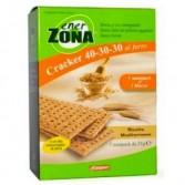 CRACKER AL FARRO 40-30-30 MEDITERRANEO | Cracker gusto Mediterraneo 7 minipack | ENERZONA