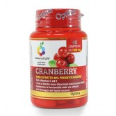 CRANBERRY 60 cpr | Integratore di Mirtillo Rosso | OPTIMA NATURALS Colours of Life