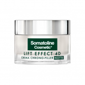 Crema Chrono-Filler notte 50 ml | Trattamento antirughe | SOMATOLINE COSMETIC Lift Effect 4D