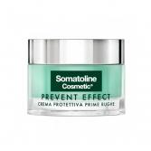 Crema Protettiva 50 ml | Trattamento viso prime rughe | SOMATOLINE COSMETIC Prevent Effect