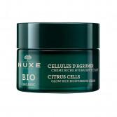Crema Ricca Cellule di Agrumi | Trattamento idratante illuminante 50 ml | NUXE Bio Organic