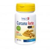 CURCUMA FORTE 60 cps | Integratore Curcumina con Ar-turmerone | LONGLIFE