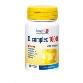 D COMPLEX 1000| Integratore con vitamina D3 e K2 60 compresse| LONGLIFE