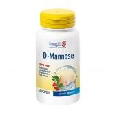 D-MANNOSE 60 Capsule | Integratore Vie Urinarie | LONGLIFE