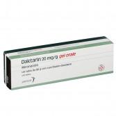 Daktarin gel orale | Tubo da 80 g con cucchiaino dosatore