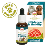 DIFFIDENCE & TIMIDITY Gocce 30 ml | Fiori Australiani per Diffidenza e Difesa | AUSTRALIAN BUSH FLOWER Essences - Animal