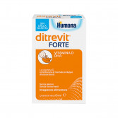 Ditrevit Forte gocce 15 ml | Vitamina D e DHA per Bambini | HUMANA