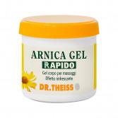 ARNICA GEL RAPIDO 200 ml | Per il massaggio di muscoli e articolazioni | DR.THEISS