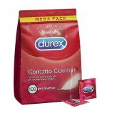 CONTATTO COMFORT Mega pack 100 Profilattici | DUREX - Online