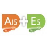 E5 + A15 | Kit vitamine idratante per pelli mature | MONODERMÀ