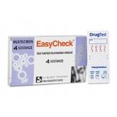 TEST RAPIDO RILEVAZIONE DROGHE Multiscreen 4 sostenze | EASYCHECK
