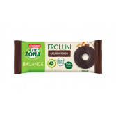 FROLLINI 40-30-30 CACAO INTENSO | Biscotti Cacao Intenso Pack Monodose 4 frollini | ENERZONA