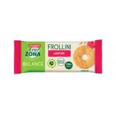 FROLLINI 40-30-30 LAMPONE | Biscotti Lampone Pack Monodose 4 frollini | ENERZONA