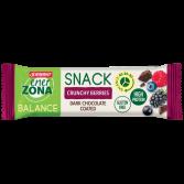 SNACK BALANCE CRUNCHY BERRIES | Barretta Frutti di Bosco e Cacao 33 g | ENERZONA