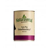 ENTENFLEISCHTOPF | Carne di anatra e interiora 410 g cod.2611 | NATURAVETAL - Canis Plus
