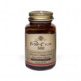 Ester C Plus 500 - 50 Capsule Vegetali | Integratore di Vitamina C brevettata | SOLGAR