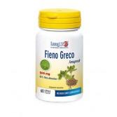 FIENO GRECO 60 Capsule | Integratore di Fibra Alimentare | LONGLIFE