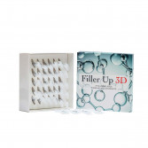 FILLER UP 3D 30 Strip monodose | Acido ialuronico a basso peso molecolare | FARMA BIO TECHNOLOGY