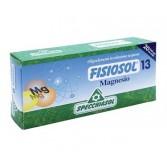 13 MAGNESIO Eccitabilità neuromuscolare 20 FIALE | SPECCHIASOL - Fisiosol