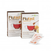 Flu Fast Apix Gusto Arancia | Integratore per i fastidi invernali 9 buste | BIOS LINE