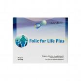 FOLIC FOR LIFE PLUS 30 Capsuel | Integratore di Acido Folico Metilato | ALKADAE