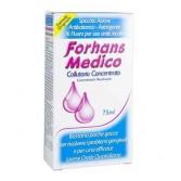COLLUTORIO CONCENTRATO 75 ml | Senza clorexidina, antibatterico, astringente | FORHANS - Medico