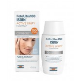 ACTIVE UNIFY SPF100+ 50 ml | Fluido Protettivo Anti macchia | ISDIN - FotoUltra