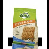FROLLINI 40-30-30 COCCO | Biscotti al Cocco 250 g | ENERZONA
