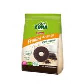 FROLLINI 40-30-30 CIOCCOLATO FONDENTE | Biscotti al Cioccolato Fondente intenso 250 g | ENERZONA