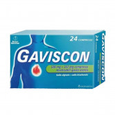 GAVISCON 500 mg + 267 mg | 24 Compresse Masticabili Menta