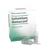 GELSEMIUM HOMACCORD | 10 Fiale omeopatiche | GUNA Heel