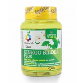 GINKGO BILOBA PLUS 60 cpr | Integratore Memoria e Mente | OPTIMA NATURALS Colours of Life