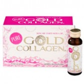 PURE 10 Flaconcini | Integratore liquido di Collagene | GOLD COLLAGEN