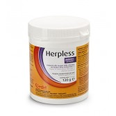 HERPLESS Polvere | Integratore contro l'Herpes Virus per GATTI 120 g | CANDIOLI