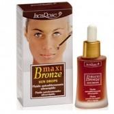 SUN DROPS 30 ml | Fluido viso Autoabbronzante Antiage | INCAROSE - Maxi Bronze