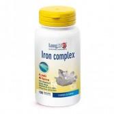 IRON COMPLEX 100 Tavolette | Integratore di Ferro | LONGLIFE