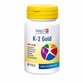 K2 GOLD 60 Perle | Integratore di Vitamina K2 | LONGLIFE