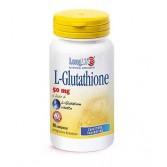 L-GLUTATHIONE  90 cpr 50 mg | Integratore Antiossidante | LONGLIFE
