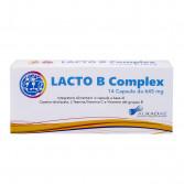 LACTO B COMPLEX 14 Capsule | Integratore Benessere Psico-fisico | ALKADAE
