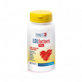 LDL FACTORS PLUS 60 Tavolette | Integratore Colesterolo | LONGLIFE