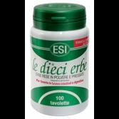 LE DIECI ERBE 100 tav | Integratore Stitichezza | ESI - Gastrointestinale
