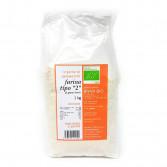 Farina di tipo 2 di grano tenero | Biologica 1 kg | LE FARINE DI ZAMMARCHI