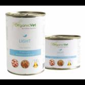 LIGHT da 200 o 400 g | Cibo umido dietetico pollo e riso per CANI | ORGANIC VET