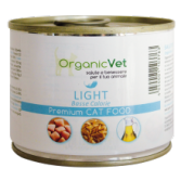 LIGHT 200 g | Cibo umido dietetico pollo e riso per GATTI | ORGANIC VET