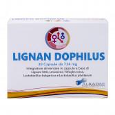 LIGNAN DOPHILUS  30 Capsule | Integratore Sindrome premestruale e Menopausa | ALKADAE