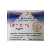 Lipo-Plex Forte 30 capsule | Integratore Cuore e Sistema Circolatorio | ALFABIOMEGA
